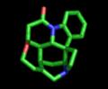 Molecule strychnine 3D.png
