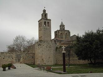 Sant Cugat del Vallès - Image: Monestir de Sant Cugat