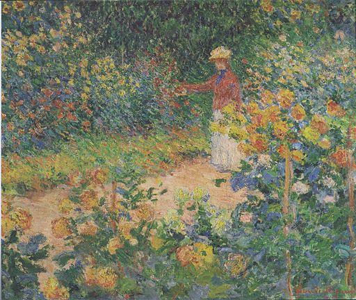 Monet - Im Garten - 1895