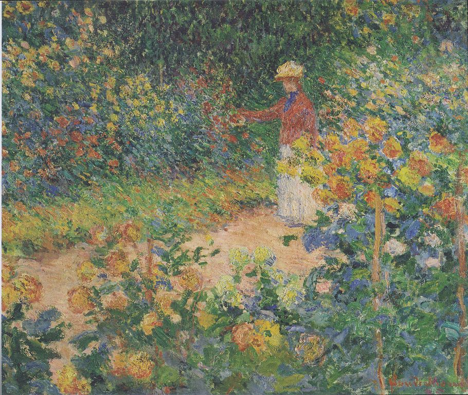 File Monet Im Garten 1895 Jpeg Wikimedia Commons