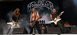 Moonsorrow - Moonsorrow performing at Myötätuulirock 2011