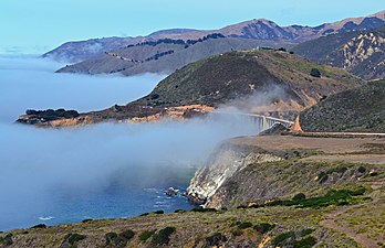 Morning Fog, Bixby Creek Bridge, CAa (11782757526)