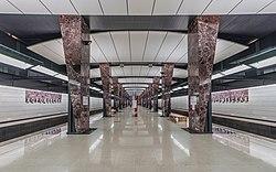 Moscow Khoroshevskaya metro station asv2019-06.jpg