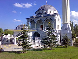 Turks in Ukraine - Sultan Suleiman Mosque in Mariupol, Ukraine.