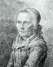 Caspar David Friedrich: Mutter Heiden, um 1798 (Quelle: Wikimedia)