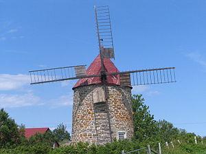 L'Isle-aux-Coudres - The Moulins de l'Isle-Aux-Coudres
