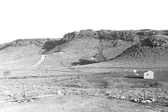 Goldsworthy, Western Australia - Image: Mount Goldsworthy circa 1963