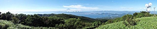 Mount Kinkan Panorama 20100718.jpg