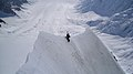 Mount Logan Knife ridge, east ridge by Christian Stangl (flickr).jpg