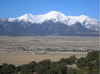 Mount Princeton near Buena Vista, CO.