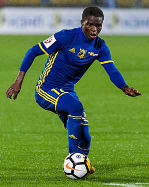 Moussa Doumbia (footballer, born 1994) - Doumbia with FC Rostov in 2017
