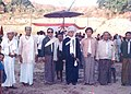 Mr. U Saw Hla (Ven. U Pannya Jota Thera) as an Assistant Judge and Magistrate of Government of the People's Republic of Bangladesh with late Bohmong Raja (King) Mong Shwe Phru on Celebration.jpg