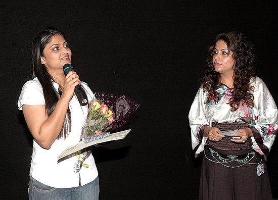 Ms. Geetu Mohan Das, Director of the film 'Kelkunnundo' at the presentation of the film, during the 40thInternational Film Festival (IFFI-2009), at Panaji, Goa on November 28, 2009.jpg