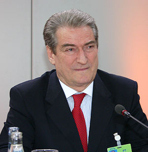 Leader of the Opposition (Albania) - Image: Msc 2006 Saturday, 16.00 18.00 Berisha