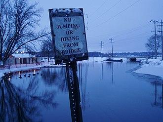 Mukwonago, Wisconsin - Mukwonago River