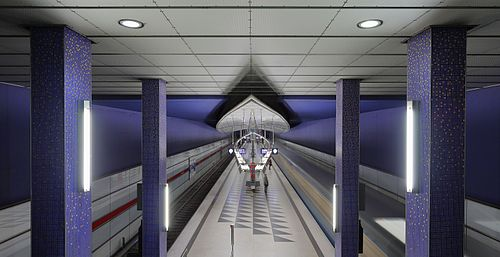Munich subway station Hasenbergl 2.JPG