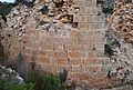 Mur de carreus del castell de la Granadella.JPG