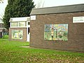 Mural on youth centre in Mold - Spring and Summer - geograph.org.uk - 298772.jpg