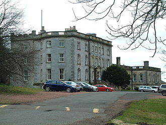 James Inglis Hamilton - Murdostoun Castle (2006). Hamilton made modifications to it, and it is where he died.