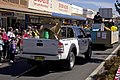 Murrumbidgee Irrigation vehicle in the SunRice Festival parade in Pine Ave.jpg