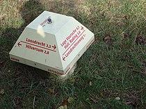 Mushroom-shaped sign near Hilversum, the Netherlands.jpg
