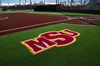 Midwestern State University - Mustangs Park was redesigned with turf for the 2016 season.