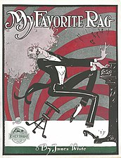 My Favorite Rag by James White - cover by Grim Natwick.jpg
