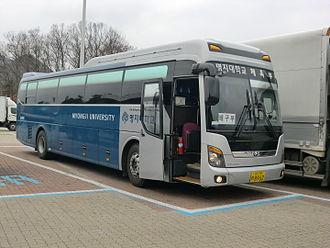 Myongji University - Myongji University Bus