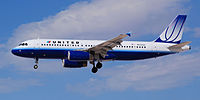 N453UA - A320 - United Airlines