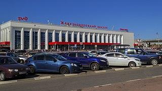 Central railway station in Nizhny Novgorod