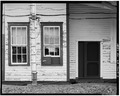 NORTH REAR, DETAIL OF OFFICE WINDOWS - Plains Depot, Hudson and Main Streets, Plains, Sumter County, GA HABS GA,131-PLAIN,15-4.tif