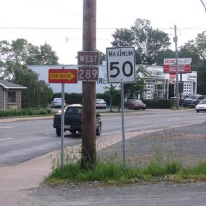 Nova Scotia Route 289