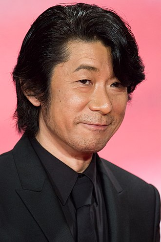 Masatoshi Nagase - Nagase at Opening Ceremony of the Tokyo International Film Festival, 2017.