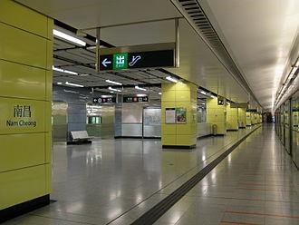 Nam Cheong station - Platform 4