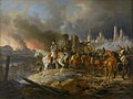 Napoleon in burning Moscow - Adam Albrecht (1841).jpg