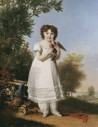 Napoleona Elisa Baciocchi by Benoist