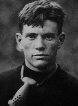 History of Tennessee Volunteers football - Nathan Dougherty with nose guard.