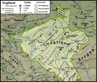 Vogtland (Naturraum) – Wikipedia