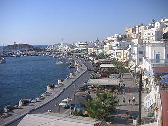 Naxos (city) - The promenade