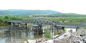 Rhondda and Swansea Bay Railway - Neath Swing Bridge