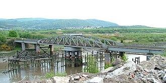 Rhondda and Swansea Bay Railway - Neath Swing Bridge