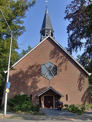 Usselo - The Dutch Reformed church in Usselo
