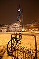 Neve in Piazza Grande Duomo e Ghirlandina coperta dal Telo del Paladino.JPG
