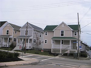 Beltzhoover (Pittsburgh) - Houses in Beltzhoover built circa 2003 to 2006