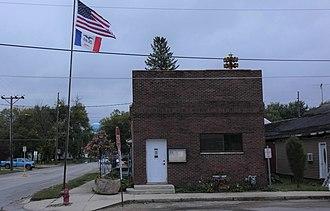 New Hartford, Iowa - New Hartford Town Hall