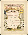 New Zealand Methodist Sunday School Union -Union is strength. Scholars' examination 1902. This is to certify that Mary McKenzie of the Gore Sunday School was placed 18th in order of merit having (21018327583).jpg