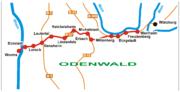 Verlauf der Nibelungenstraße