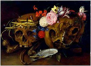 Nicolaes van Verendael - Vanitas