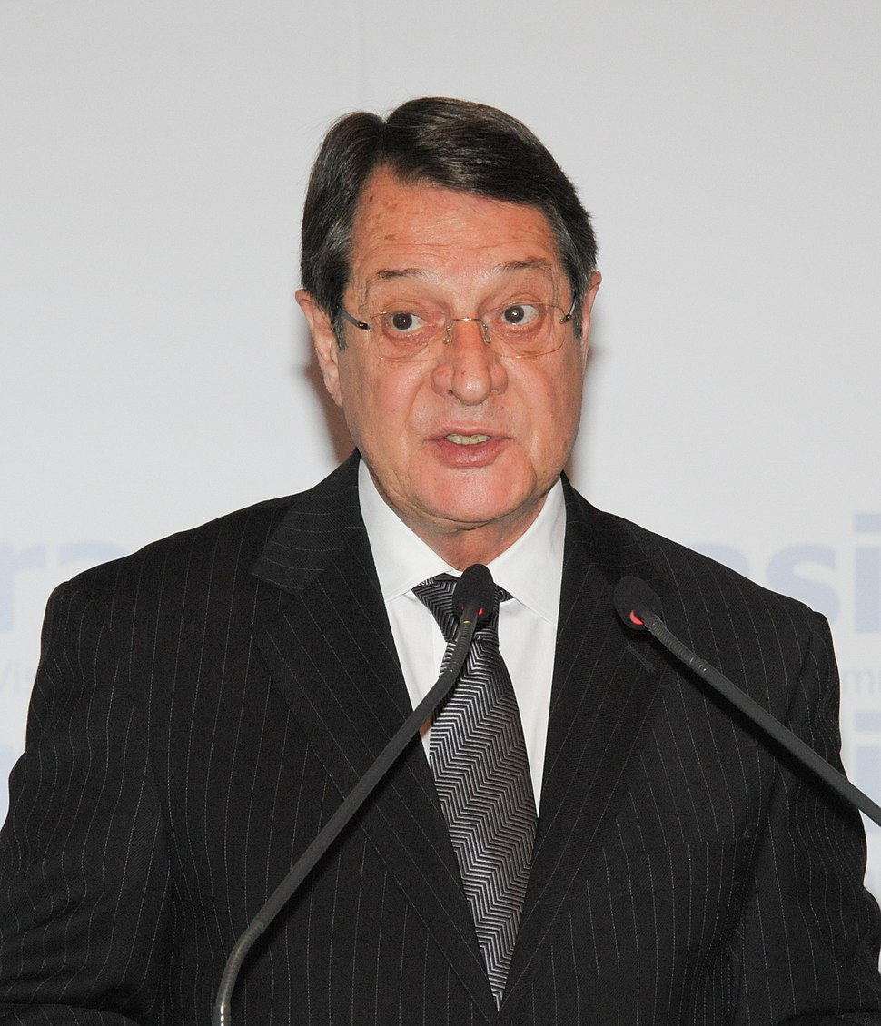 Nicos Anastasiades, President of Cyprus - Cyprus will prove it can bounce back (8661999713) (cropped)