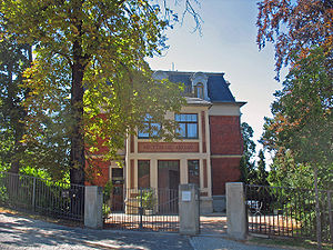Library of Friedrich Nietzsche - The Nietzsche Archives in Weimar, Germany.